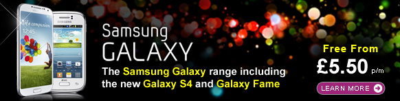 Samsung Galaxy deals from £5.50 p/m