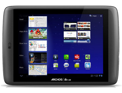 Free Archos 80 G9 8GB Tablet