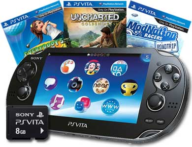 Free PlayStation Vita Wi-Fi Bundle