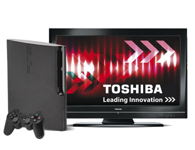 how to connect ps3 to toshiba tv