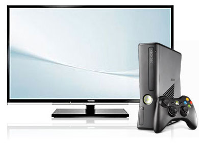 Free Toshiba 32 inch LED Television with Xbox 360