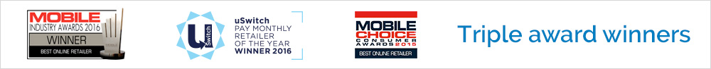 Award winning mobile phone contracts