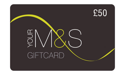 £50 Marks & Spencer gift card